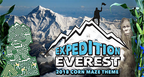 Corn Maze 2018 - Expedition Everest