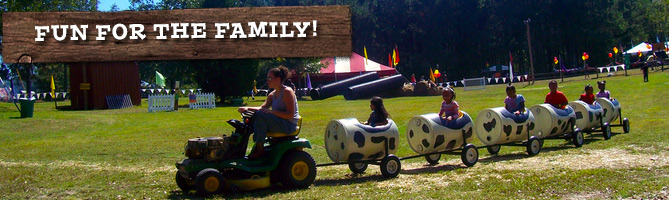 Outdoor fall farm fun for the whole family
