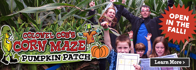 Giant Corn Maze - Oxford, Georgia